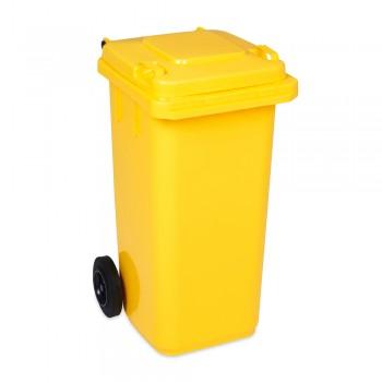 ŻOŁTY POJEMNIK na śmieci...