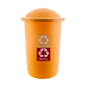 kosz do segregacji plastiku...